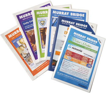 Old style printed directories for Murray Bridge