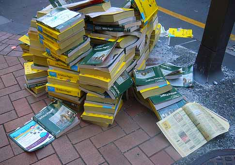 Yellow Pages have become pretty much redundant and really only good for recycling ... that's why the Murray Bridge Directory is so valuable